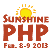 Logotipo de la conferencia SunshinePHP