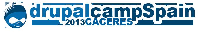 Logotipo de la conferencia DrupalCamp Spain 2013