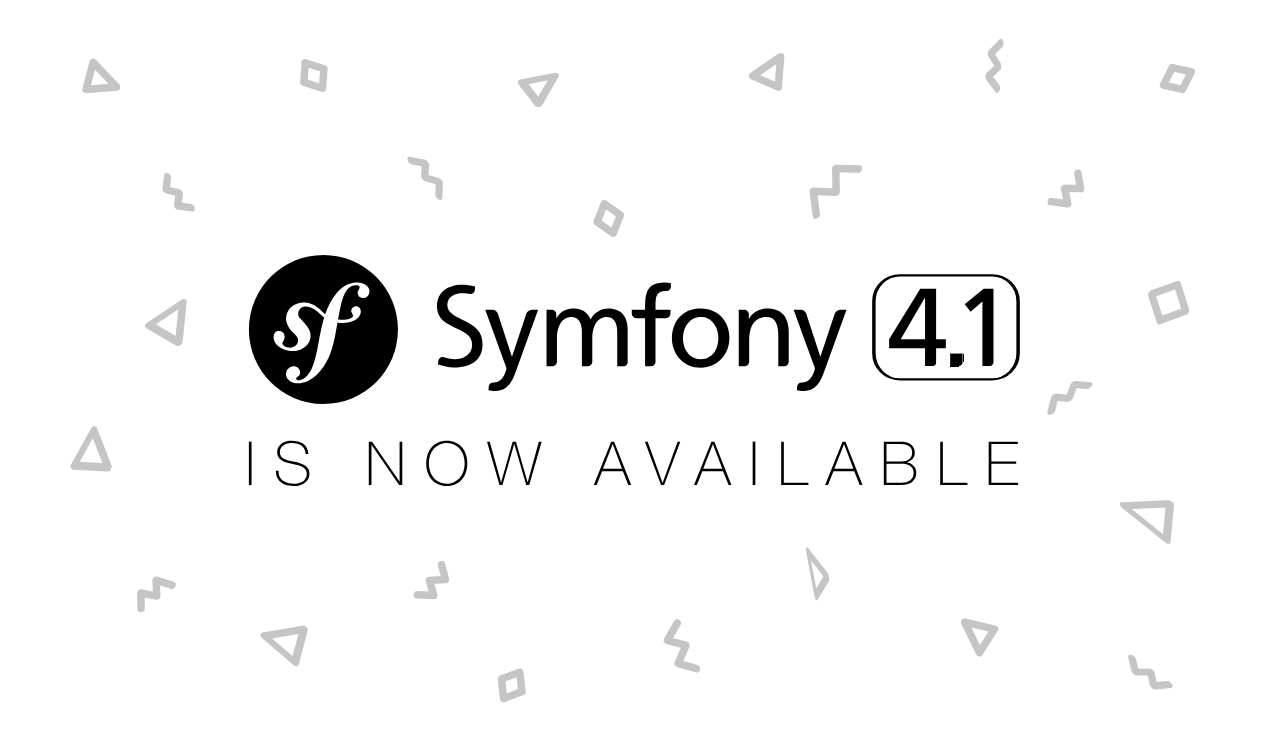 Symfony 4.1 ya está disponible